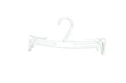 BH-BIKINIGALGE250 MM PLASTKROK GLASKLAR